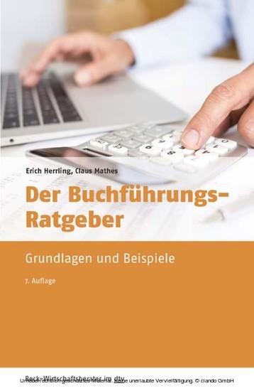 Der Buchführungs-Ratgeber - Blick ins Buch