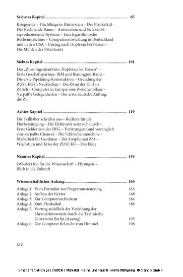 Der Computer - Mein Lebenswerk - Blick ins Buch