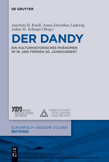 Der Dandy - Blick ins Buch