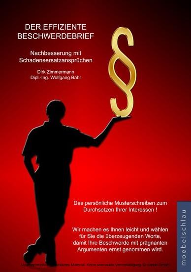 Der effiziente Beschwerdebrief - Nachbesserung mit Schadensersatzansprüchen - Blick ins Buch