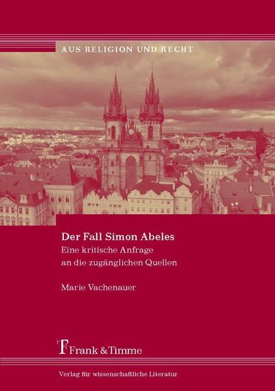 Der Fall Simon Abeles - Blick ins Buch