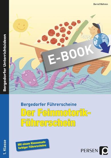 Der Feinmotorik-Führerschein - Blick ins Buch