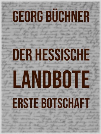 Der Hessische Landbote - Blick ins Buch