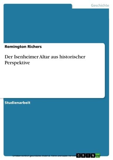 Der Isenheimer Altar aus historischer Perspektive - Blick ins Buch