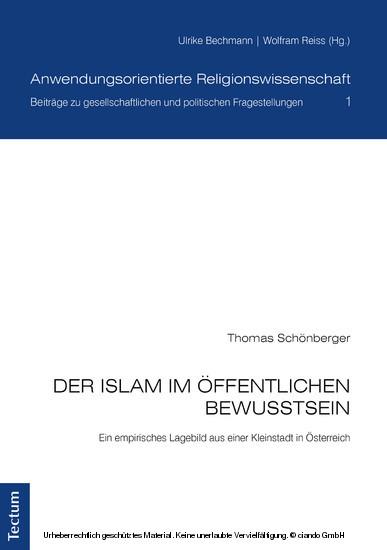 Der Islam im öffentlichen Bewusstsein - Blick ins Buch