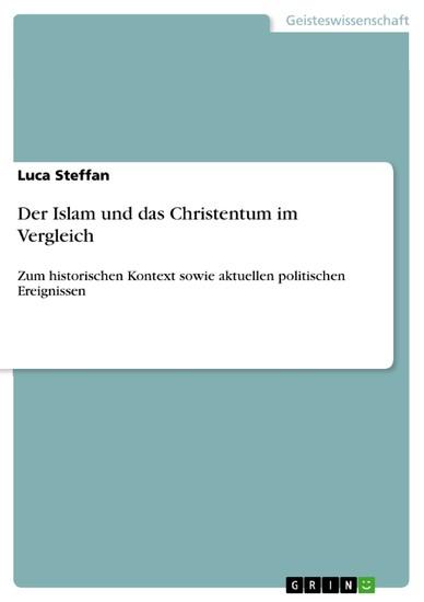 Der Islam und das Christentum im Vergleich - Blick ins Buch