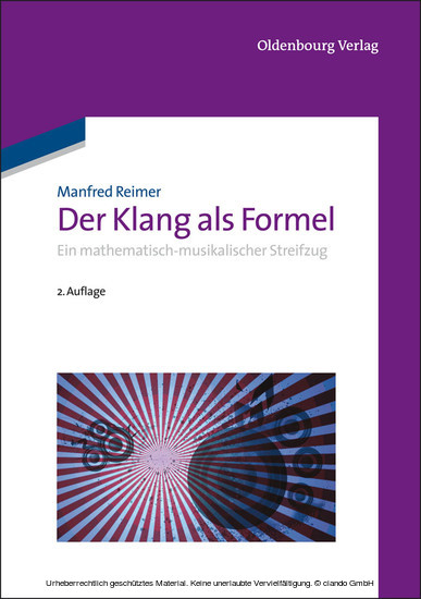 Der Klang als Formel - Blick ins Buch