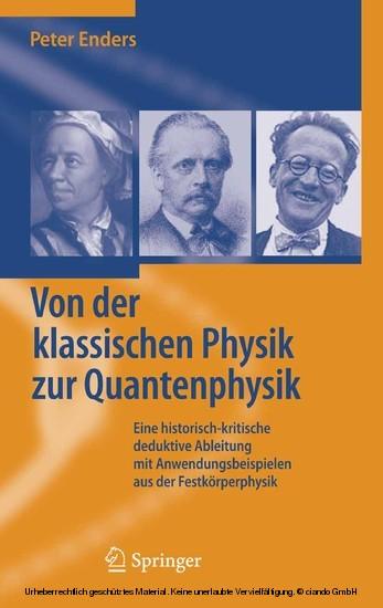 Von der klassischen Physik zur Quantenphysik - Blick ins Buch