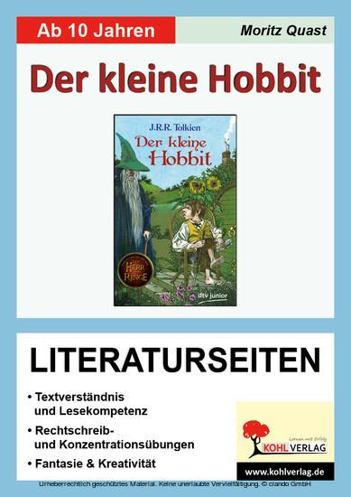 Der kleine Hobbit - Literaturseiten - Blick ins Buch