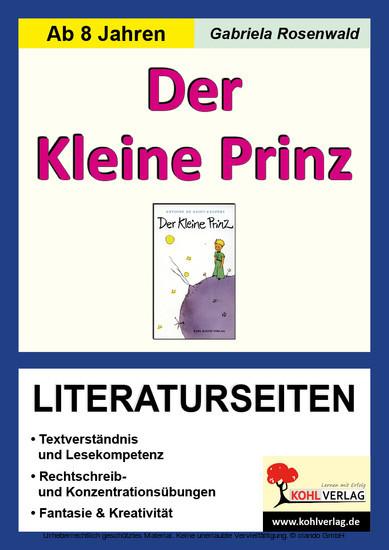 Der Kleine Prinz - Literaturseiten - Blick ins Buch