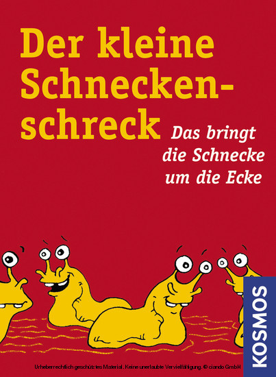 Der kleine Schneckenschreck! - Blick ins Buch