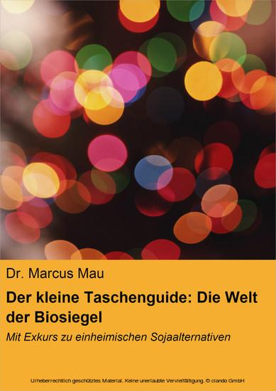 Der kleine Taschenguide: Die Welt der Biosiegel & Co. - Blick ins Buch
