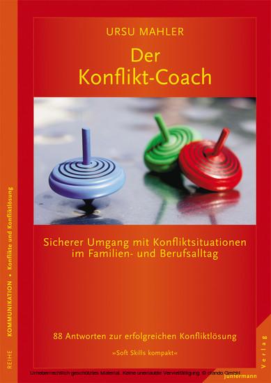 Der Konflikt-Coach - Blick ins Buch