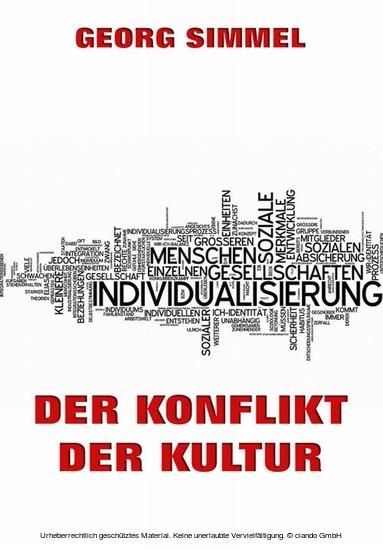 Der Konflikt der Kultur - Blick ins Buch