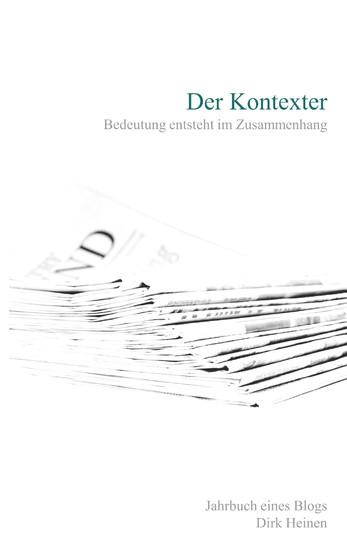 Der Kontexter - Blick ins Buch