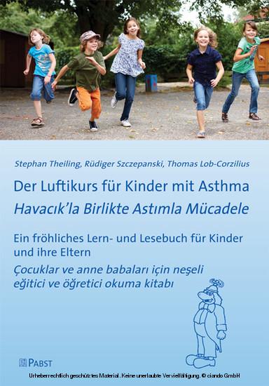 Der Luftikurs für Kinder mit Asthma - Blick ins Buch
