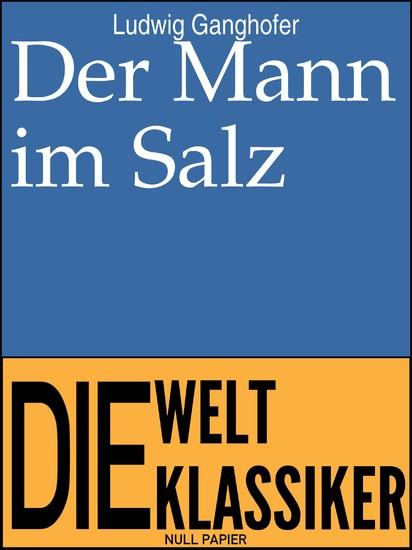Der Mann im Salz - Blick ins Buch