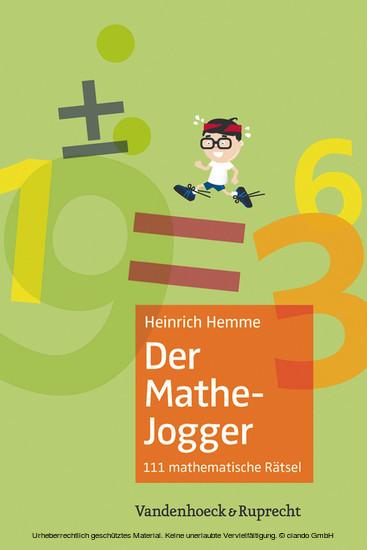 Der Mathe-Jogger - Blick ins Buch