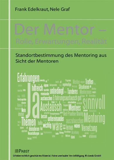 Der Mentor - Blick ins Buch