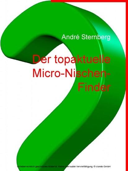 Der Micro-Nischen Führer - Blick ins Buch