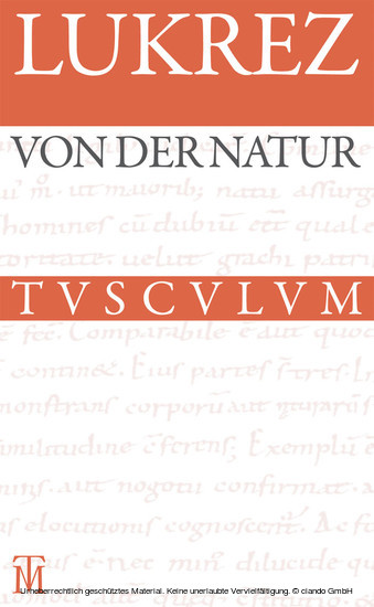 Von der Natur / De rerum natura - Blick ins Buch