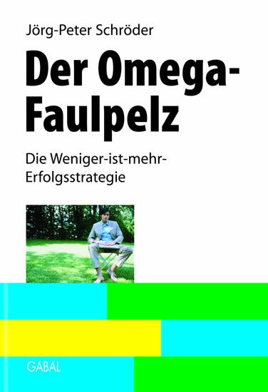 Der Omega-Faulpelz - Blick ins Buch