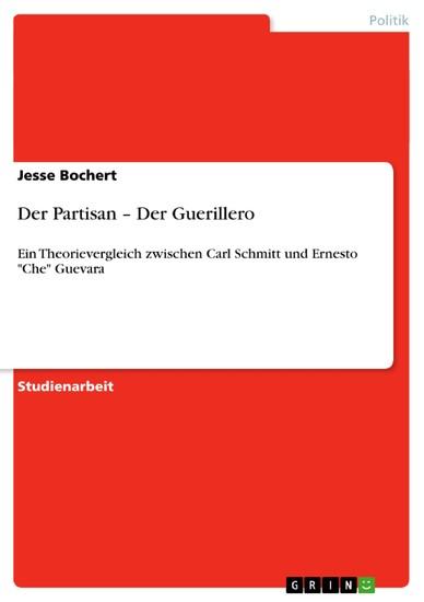 Der Partisan - Der Guerillero - Blick ins Buch