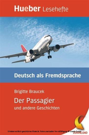 Der Passagier und andere Geschichten - Blick ins Buch
