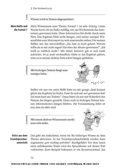 Der Prüfungserfolg - Blick ins Buch