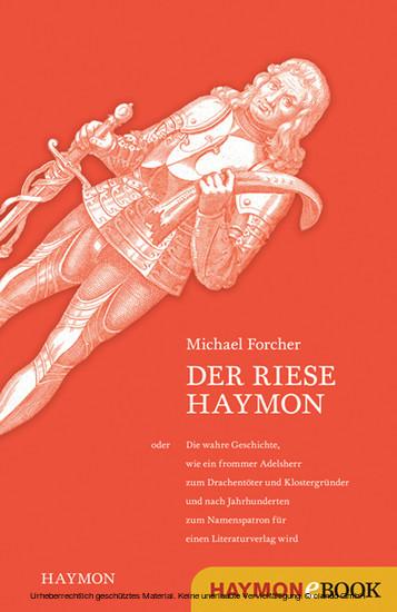 Der Riese Haymon - Blick ins Buch