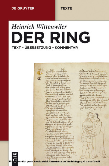Der Ring - Blick ins Buch