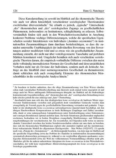 Der Sinn der Institutionen - Blick ins Buch