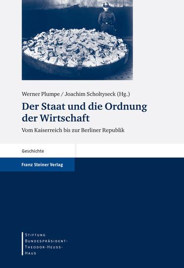 Der Staat und die Ordnung der Wirtschaft - Blick ins Buch