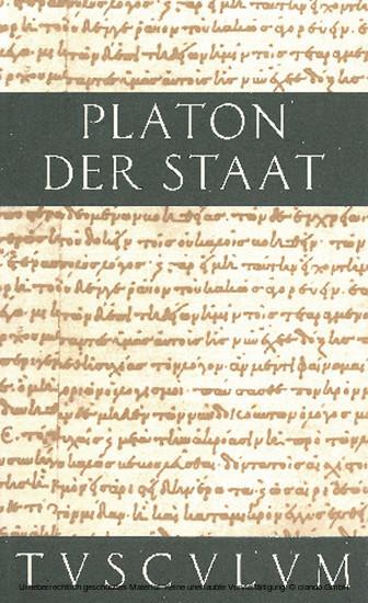 Der Staat / Politeia - Blick ins Buch