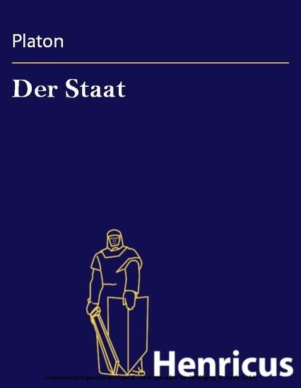 Der Staat - Blick ins Buch