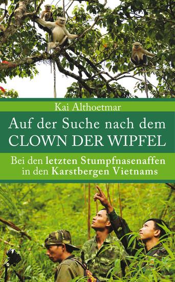 Auf der Suche nach dem Clown der Wipfel - Blick ins Buch