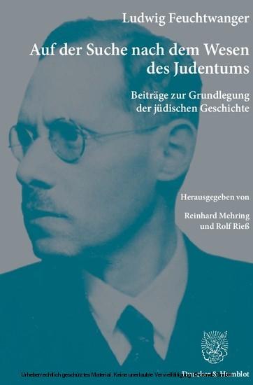 Auf der Suche nach dem Wesen des Judentums. - Blick ins Buch