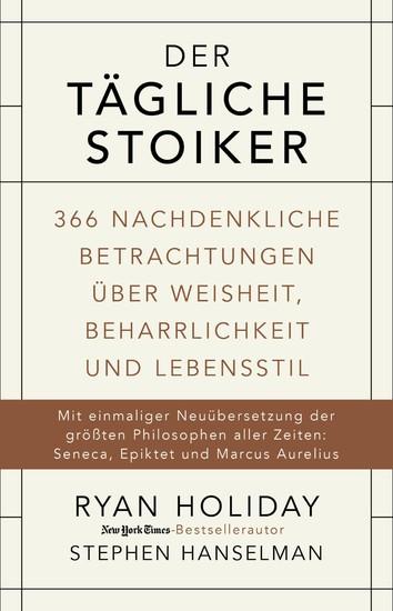 Der tägliche Stoiker - Blick ins Buch