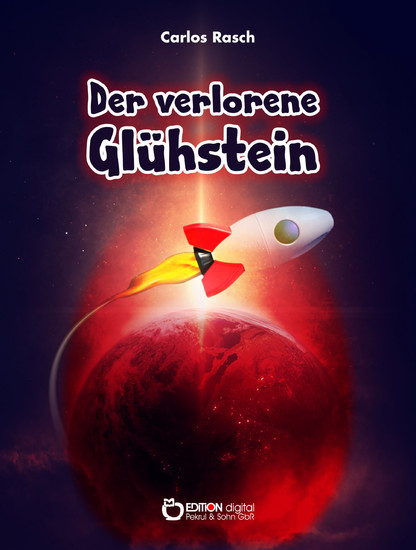 Der verlorene Glühstein - Blick ins Buch