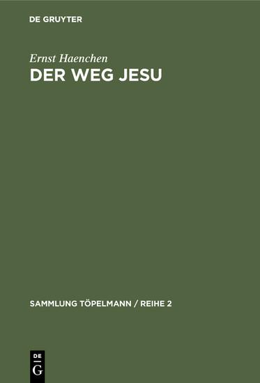 Der Weg Jesu - Blick ins Buch