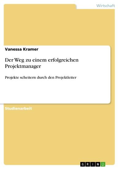 Der Weg zu einem erfolgreichen Projektmanager - Blick ins Buch