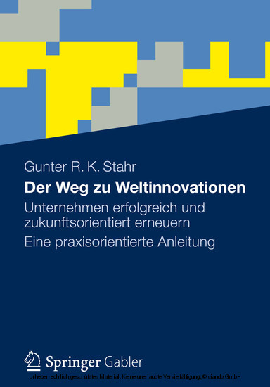 Der Weg zu Weltinnovationen - Blick ins Buch