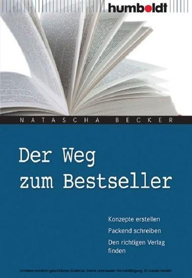 Der Weg zum Bestseller - Blick ins Buch