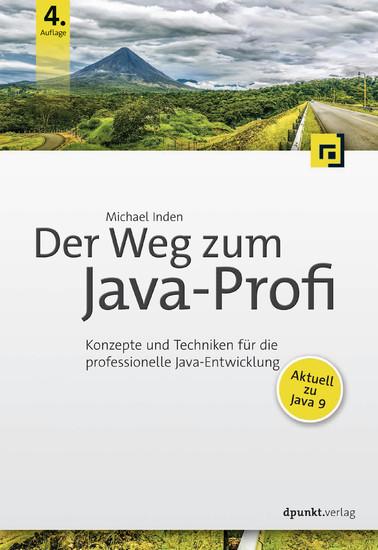 Der Weg zum Java-Profi - Blick ins Buch