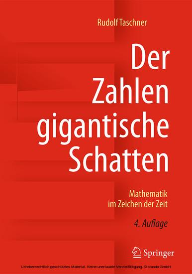 Der Zahlen gigantische Schatten - Blick ins Buch