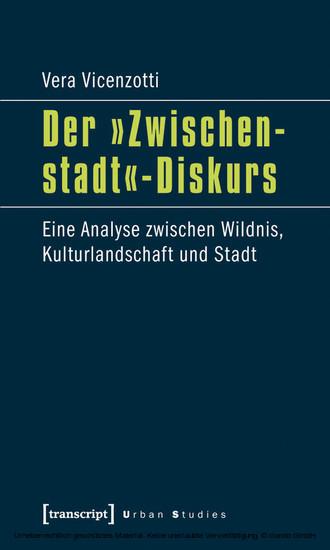 Der »Zwischenstadt«-Diskurs - Blick ins Buch