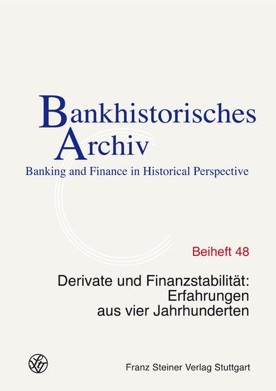Derivate und Finanzstabilität - Blick ins Buch
