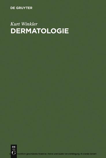 Dermatologie - Blick ins Buch