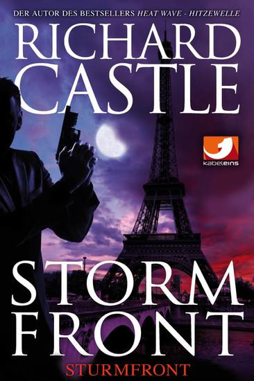 Derrick Storm 1: Storm Front - Sturmfront - Blick ins Buch