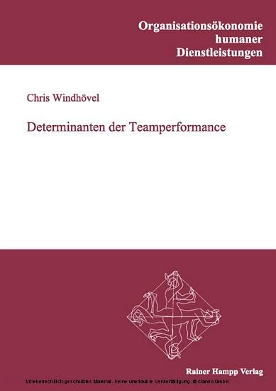 Determinanten der Teamperformance - Blick ins Buch